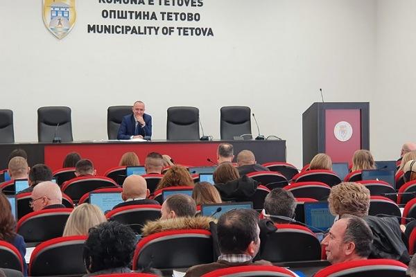 Kryetari i Këshillit komunal të Tetovës  Bekim Memeti  me apel për qytetarët